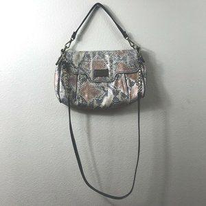 GiGi Hill Womens Handbag with Shoulder Strap Snake